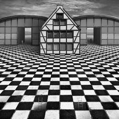 Polish photographer Dariusz Klimczak applies his photo manipulation skills to carefully construct surreal landscapes filled with patterns.
