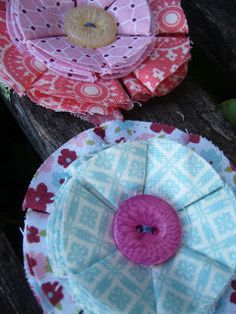 Alarnee Creations by Sharnee Torrents: Mother's Day gift ideas {fabric flowers}