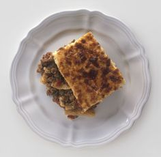 Try Greek Pastitsio: Baked Pasta with Meat and Bechamel Topping