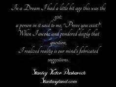 Life dreams and reality...