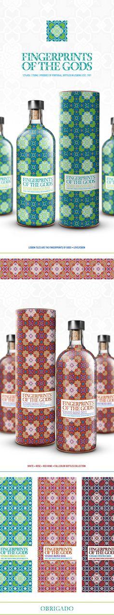 Fingerprints of the Gods love these patterns on the packaging PD(Bottle Design Mezcal)