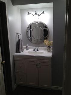 Bathroom mirror!