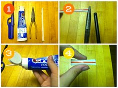 Toothpaste Dots and Other Toothpaste Packing Hacks >>> Great packing ideas here!