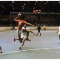 Jeux Olympiques de Montréal - 1976 Le Centre Claude-Robillard, théâtre de la plupart des matchs de handball.