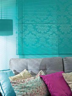 Aprenda a fazer um painel decorativo para a sala - Casa