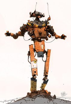 More from the Robodude archives:
