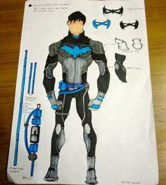 Nightwing Costume Idea by neuronboy42