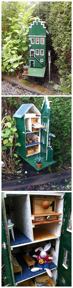 ZAANS TB&COIN HOTEL in Netherlands (GC51BBY), a traditional cache by zaanse meid with over 100 favourite points.  I'd like to find a TB hotel like this!  (pics from people's logs on geocaching.com stitched together by I.B. Geocaching and pinned to Travel Bug Hotel Geocaches - http://www.pinterest.com/islandbuttons/travel-bug-hotel-geocaches/) #IBGCp