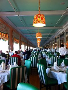 Grand Hotel, Mackinac Island. The best lunch EVER - it is EPIC!