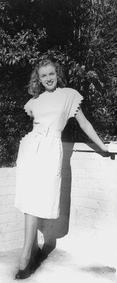 Norma Jeane. Photo by Erwin Steinmeyer, 1946.