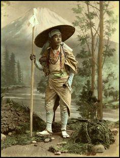 Japanese man from the Meiji era
