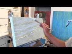 How To Paint Water, Demystifying The Process of Painting Water #OilPaintingWater #OilPaintingTips