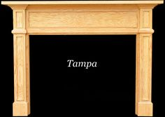 Tampa Fireplace Mantels | True Mission and Shaker Style Elegance