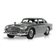 Hot Wheels Elite 1:43 Scale ``James Bonds Aston Martin DB5 from Goldfinger`` Car (Silver) hotwheels elite 007 james bond goldfinger aston martin DB5 silver car 1.43 scale diecast model brand new displayed in a box and is in good condition this model is 14  mad (Barcode EAN = 0746775375362) http://www.comparestoreprices.co.uk/december-2016-6/hot-wheels-elite-143-scale-james-bonds-aston-martin-db5-from-goldfinger-car-silver-.asp