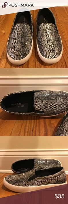 ‼️OFFERS worn ONCE Kenneth Cole Reaction Worn ONCE Kenneth Cole Reaction sneakers!! They are super cute and amazing!!! Kenneth Cole Reaction Shoes Sneakers