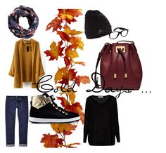 """""""Cold day"""" by izza-andretti on Polyvore featuring moda, Century Seven, Accessorize, Ray-Ban, H&M, Love Moschino i Michael Kors"""