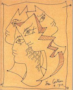 Jean Cocteau à Montparnasse, ailleurs et après - Musée du Montparnasse 1962