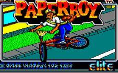 Paperboy # amstrad cpc 6128