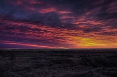 """Purple Passion"" by Zach Roberts (Mr. Twister Chaser) via flickr - sunrise over Pueblo, CO"