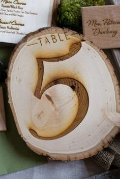 wedding decor rustic wedding decor table by woodburlapandlace, $5.95