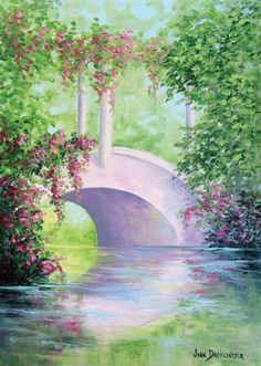 An essential element to any waterscape painting is the reflection. Here's how to master them in oil & acrylic.