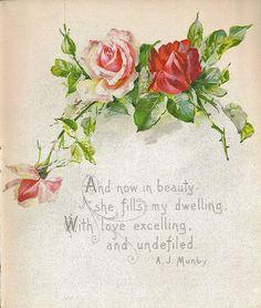 rosas vintage - Buscar con Google