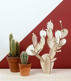 LE CACTUS a réaliser soi-même design et éthique : http://www.nopalea.fr/decoration/58-le-cactus.html