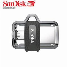 [ 43% OFF ] Sandisk Dual Otg Usb Flash Drive 64Gb 32Gb 16Gb 128Gb Sddd3 Pen Drives Extreme High Speed Pendrives 3.0 For Android Phone