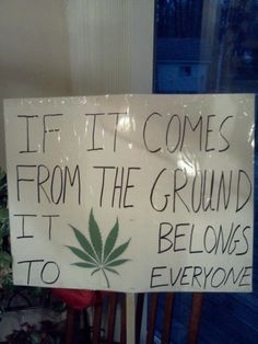 If It Comes From The Earth - Marijuana Memes