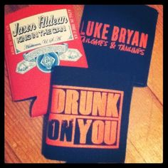 I need to add these to my ever growing coozie collection <3 I cannot get enough!!