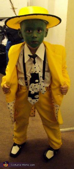 The Mask movie Jim Carrey character costume - Photo 2/2