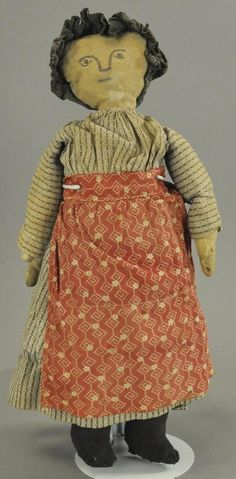 STITCHED FACE RAG DOLL