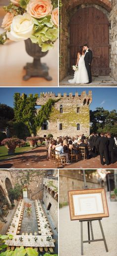 Florence Italy Wedding by Marisa Holmes Photography & Elysium | Style Me Pretty