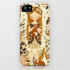 The Queen of Pentacles iPhone Case. I want I want