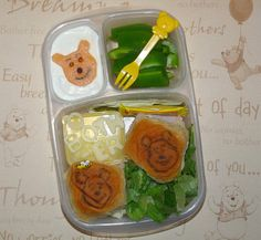Pooh's Hunny Buns #Easylunchboxes