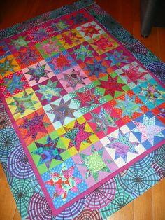 Mijn Quilt Avontuur!: Vijf en dertig sterren worden een top!
