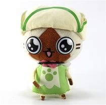Buy Monster Hunter 2011 Plush Strap: Green Dress Airu - JapanVideoGames.com - Order Now!
