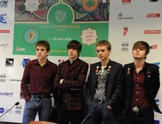 The Strypes press conference at Festival Interceltique Lorient