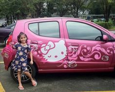 Hello Kitty Car | via Tumblr