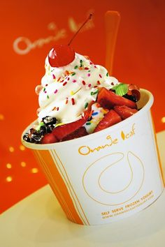 Orange Leaf- Best froyo on Maui