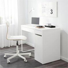 IKEA MICKE, Schreibtisch, max. 50 kg, 105x75x50 cm, weiß