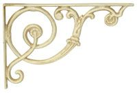 John Wright -cast iron products for the hearth & home ~ wrought iron shelving bracket ideas