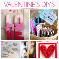 Valentine's DIY Ideas | Smarty Had A Party!