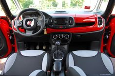 2014 Fiat 500L: The cabin is nicely finished throughout, with a pleasing design that is both unique and easy to get comfortable with.