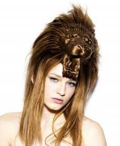 lion funny hairstyles