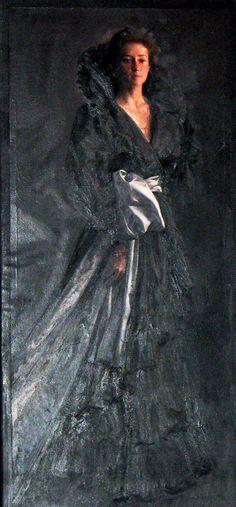 Joaquin Torrents Llado (1946-1993) - Portrait of Virginia Lopez
