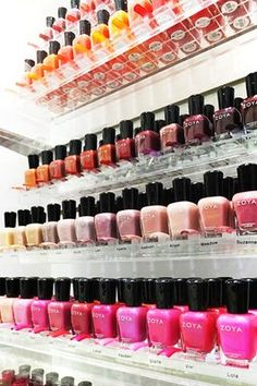 The Widest selection of Zoya Nail Polish Colors On The Island!