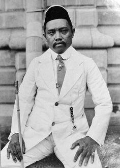 Sultan Jamal-ul-Kiram II of Sulu, Philippines in 1914