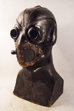 Another Scary Steampunk Mask from the House of Bob Basset