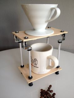 Solo - Wood Pour Over Coffee Stand from Bloomstock